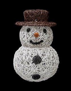 Organic Snowman white/brown/orange/black brown keine -